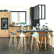chaise pour ilot de cuisine table ilot cuisine haute charmant table ilot cuisine haute 1 table