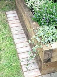 Timber Garden Edging Ideas Wood Landscape Borders Wood Landscaping Border The Best Landscape