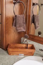 Bathroom Teak Furniture Amazon Com The Original Moa Teak Amenities Tray Bathroom