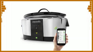 wifi cooker crock pot smart wifi enabled wemo 6 quart slow cooker youtube