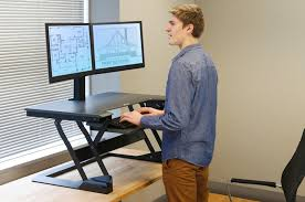 standing desks are a relief from sitting down