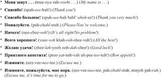 russian for dummies cheat sheet dummies