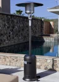 46000 Btu Propane Patio Heater Freestanding Patio Heaters Propane And Electric Outdoor Heat Lamps