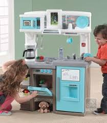 Step Two Play Kitchen by The Step2 Lifestyle Custom Kitchen Is A Kid U0027s Kitchen Set That Is