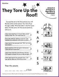 Jesus Heals The Blind Man Preschool Craft 35 Best Jesus Heals The Paralytic Man Images On Pinterest