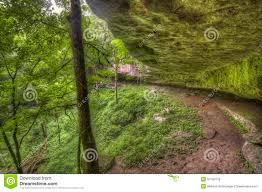Kentucky Forest images Mossy rock formation kentucky forest stock photo image of cave jpg