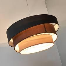 Wohnzimmerlampe Batterie Led Pendelleuchte Hängeleuchte Hängelampe Modern Rund 3 Flammig