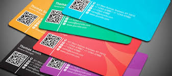 free business card template with qr code business card design