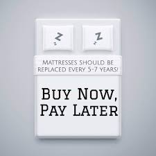 buy mattresses now pay later shopping