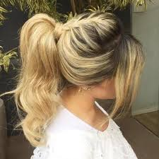 layer hair with ponytail at crown braided ponytail ideas 40 cute ponytails with braids bangs