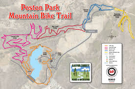 Oak Mountain State Park Trail Map by George Poston Park Trail System National Recreation Trail Database