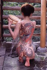 tattoo girl in the back 45 best japanese yakuza style tattoo images on pinterest japan
