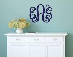 initials wall decor etsy