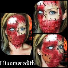 ben nye halloween makeup patch face tutorial youtube