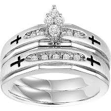 Wedding Rings At Walmart forever bride 1 2 carat t w diamond engraved sterling silver