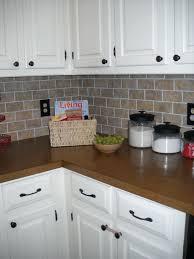 faux brick kitchen backsplash kitchen outstanding brick tile backsplash kitchen picture