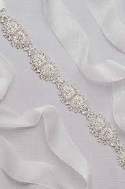 bridal sash bridal sashes wedding dress belts david s bridal