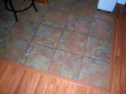 Can I Lay Laminate Flooring Over Tile Bathroom Delectable Laminate Tile Flooring Kitchen House