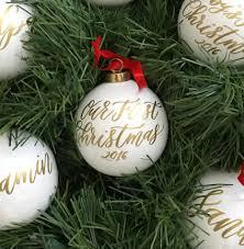 ornaments newlywed ornament tree