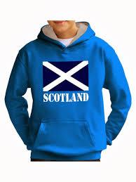 kids scottish flag hoody sweatshirt scotland hoodies rugby