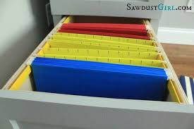 how to build a file cabinet drawer how to build a hanging file folder drawer sawdust