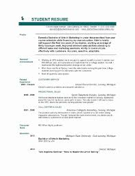 college resume format ideas 54 best of image of resume format college student resume concept