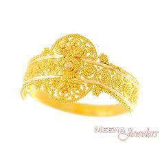 bridal gold ring gold indian filigree ring rilg2919 22kt gold ring indian