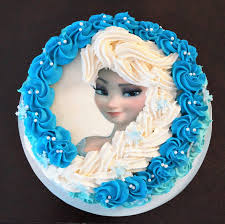 cake decorating tutorial how to make elsa buttercream cake