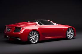 the new lexus lf gh lexus u0027 plans for the future include an lfa roadster