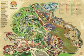 San Diego Ca Map by San Diego Zoo Thinglink Map Thinglink