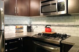 installing subway tile backsplash in kitchen 3 6 glass subway tile backsplash interior how to install glass