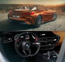 bmw concept z4 previews the styling and cabin of the upcoming