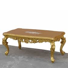 carved wood coffee table european style luxury home hand painted french furniture wood