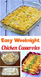 Easy Chicken Dinner Ideas For Family 5 Chicken Casserole Recipes Your Family Will Love The Frugal Girls