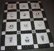 nightmare before quilt by myquiltedcreations on etsy