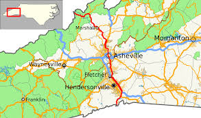 Tennessee Highway Map by U S Route 25 In North Carolina Wikipedia