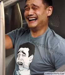 Yao Meme - yao ming meme bitch please t shirt le rage shirts