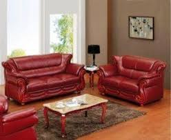 Cheap Red Leather Sofas by Leather Recliner Sofa Sets Sale Foter