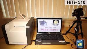 photo booth printers photo booth printer hiti p510s 2x6 cut driver demo with