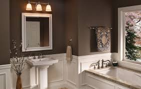 Bathroom Lighting Solutions Center Bathroom Light Fixture Lighting Grey Sink Furniture