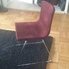 Purple Dining Chairs Ikea Find More Ikea Bernhard Dining Chairs Reduced For Sale At Up To