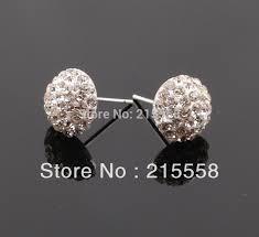 flat back earrings aliexpress buy free shipping flatback half disco