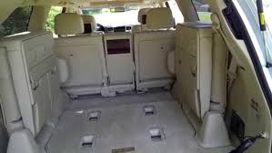 lexus best gas mileage car seat cars with third row seating how to operate rd row seats