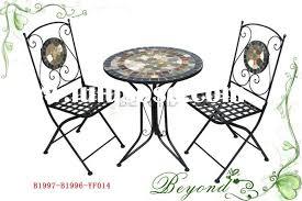 outdoor mosaic bistro table mosaic bistro set outdoor home design ideas