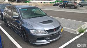 mitsubishi lancer wagon mitsubishi lancer evolution wagon mr 8 july 2017 autogespot