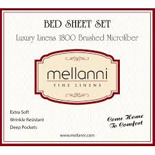 Best Sheet Brands On Amazon Amazon Com Mellanni Bed Sheet Set Brushed Microfiber 1800