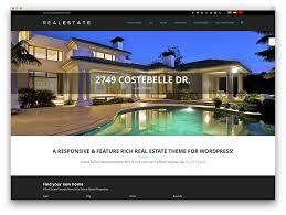 more than 40 beautiful and responsive real estate wordpress themes