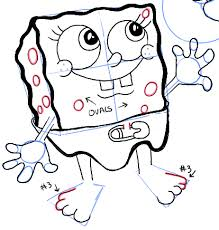how to draw baby spongebob mr krabs and plankton from spongebob
