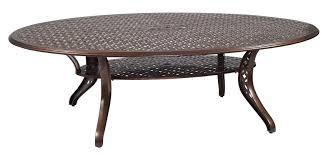 Woodard Iron Patio Furniture - casa oval dining table woodard furniture