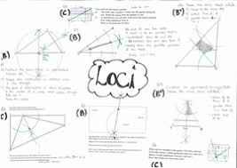 gcse loci questions by neon2 teaching resources tes